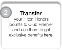 Hilton Honors | Club Premier