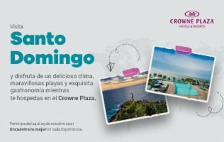 ¡Conoce el paraíso de Santo Domingo!