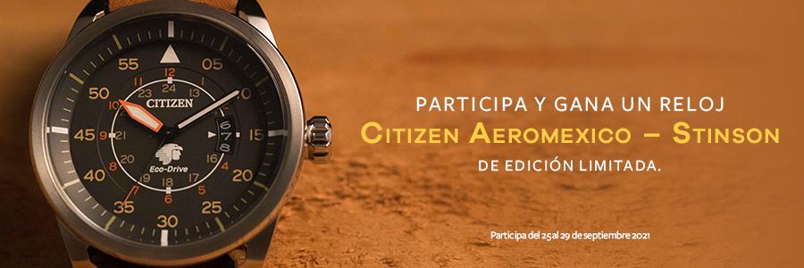 ¡Muestra tu mejor look con este reloj Citizen de edición limitada!
