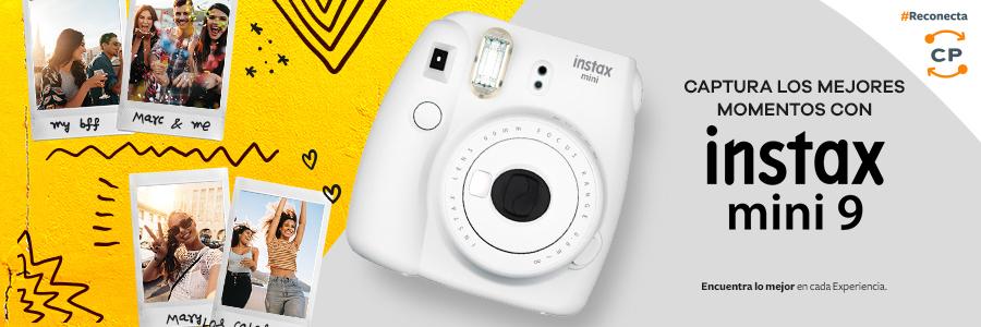 Conserva, reparte y regala los mejores momentos con la nueva cámara fotográfica análoga: Instax Mini 9.