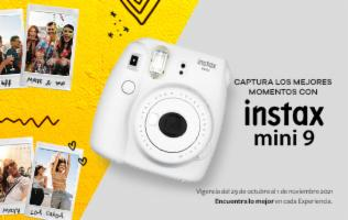 Conserva, reparte y regala los mejores momentos con la nueva cámara fotográfica análoga Instax Mini 9.