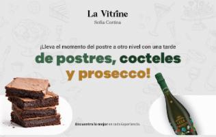 Disfruta de deliciosos postres y cocteles acompañados de un Prosecco Cavicchioli.