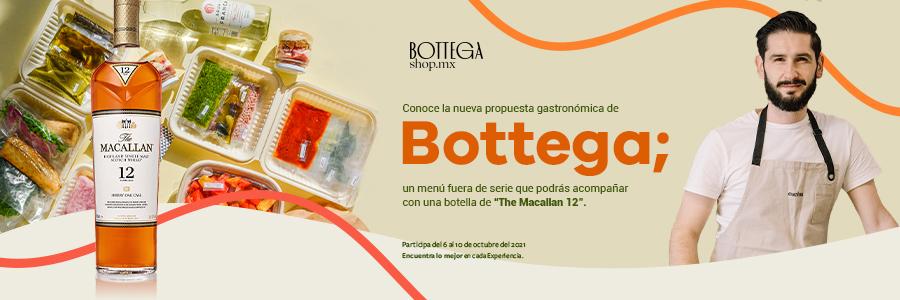 Experiencia culinaria Bottega + The Macallan 12