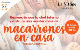 Masterclass macarrones en casa con Sofía Cortina