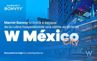 Pasa todo un día de relajación y diversión en el hotel W Mexico City