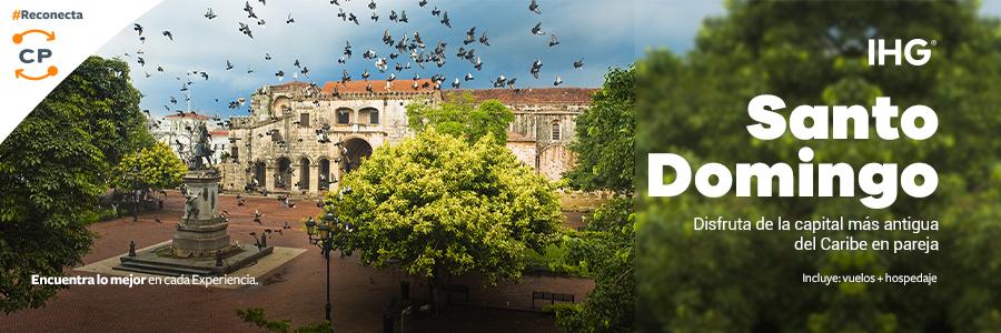 Visita el paraíso de Santo Domingo y hospédate en Holiday Inn.